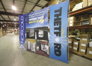 Thetford Corporation tradeshow display